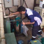 pekerjaan preventif maintenance dan perbaikan Campina Balikpapan